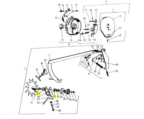 Втулка пластикова прес-підбирача тюка (Original Sipma) 2023-080-117