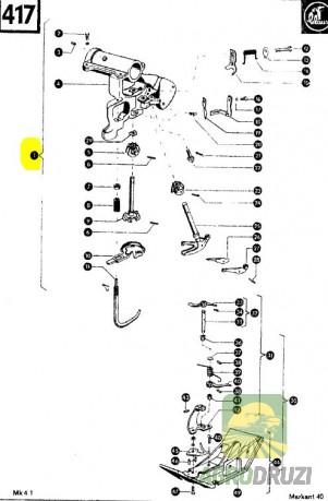 В'язальний апарат в зборі CLAAS 000087
