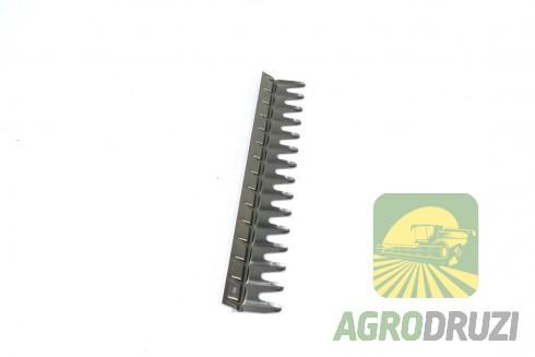 Гребінь верхнього сита жалюзійного 55x320mm CLAAS 176138