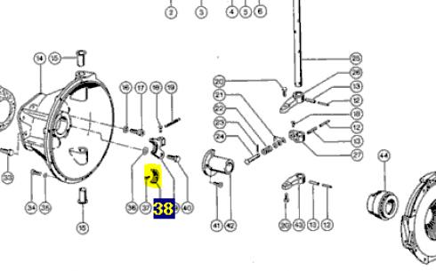 631764 Накладка синхронізатора Claas 631764. Ціна