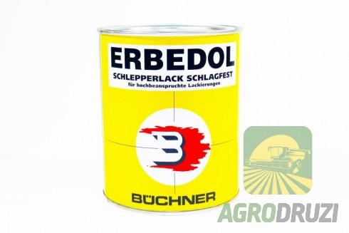 Фарба JOHN DEERE жовта (до 1987 року) Erbedol 0.75L