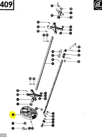 Бігова доріжка ексцентрик CLAAS 808042