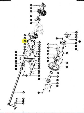 Стрічка гальмівна CLAAS 001410