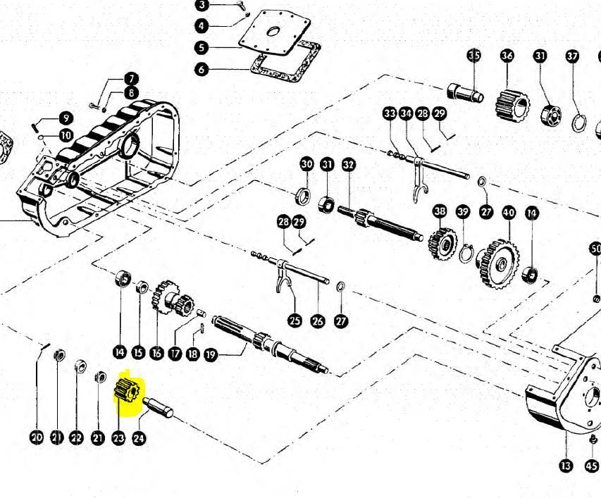 635033 Шестерня коробки передач Z16 Claas 635033. Ціна
