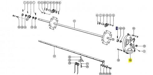 810400 Бігова доріжка ексцентрик CLAAS 810400. Ціна