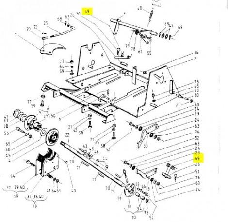 Пружина в'язального апарату (під апаратом) (Аналог) 089-000977-6.511