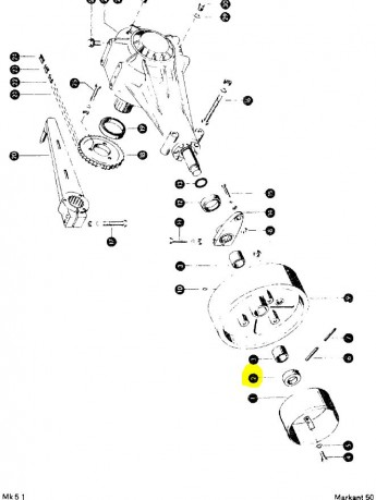Втулка маховика під шплінт Original Claas 808188