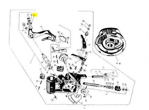 Ролик ричага (неоригінал) 2026-070-109