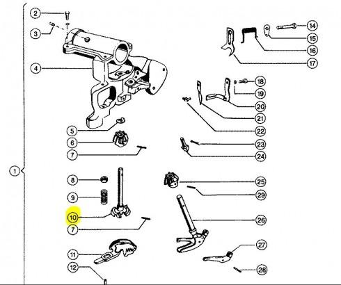 Захоплювач шнурка CLAAS 000081