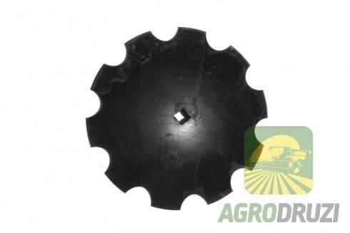 Тарілка дискової борони зубчата (ромашка) D=51.5см